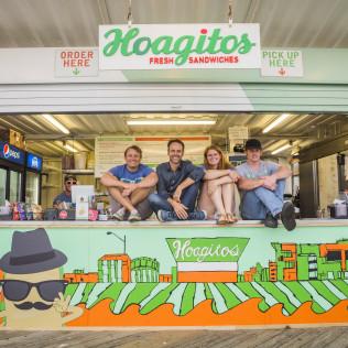 Bouncing Souls Singer Unveils Hoagitos Mural